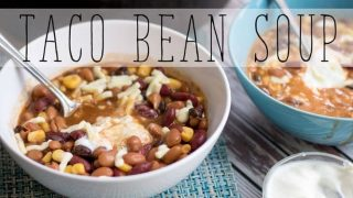 Taco Bean Soup Recipe
