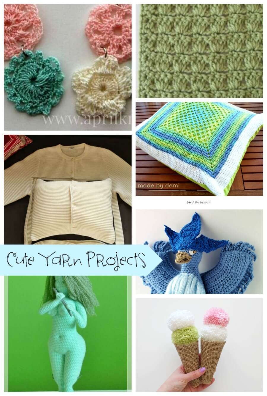 Cute Yarn Projects features from Life Sew Savory