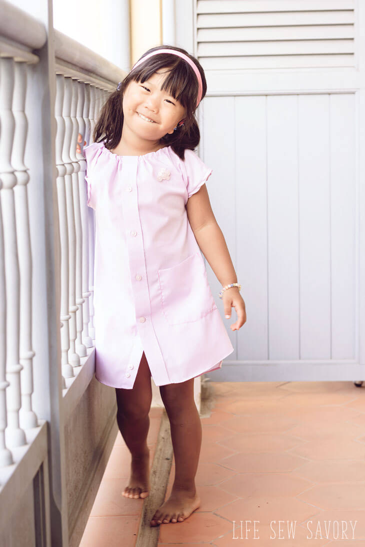 Daddy's-shirt-dress-with-free-pattern-1
