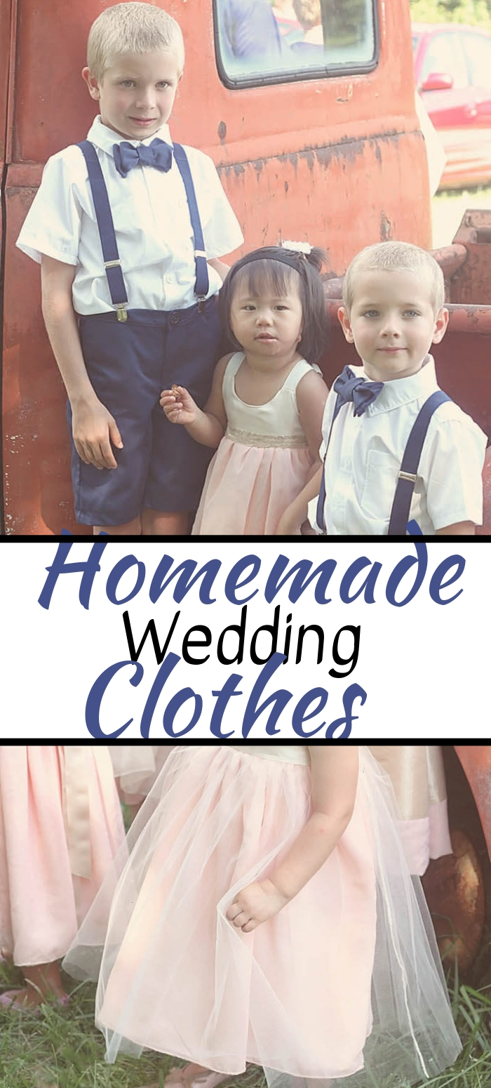 Handmade Wedding Clothes for Kids ideas and pattern inspiration from Life Sew Savory