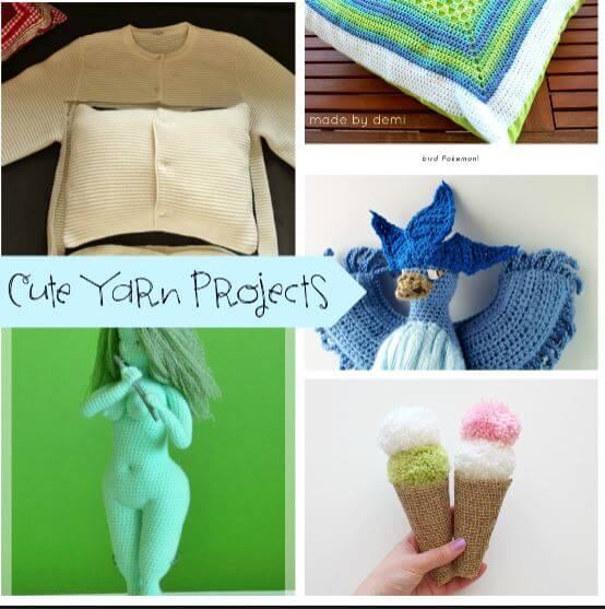 Cute Yarn Projects and Create Link Inspire Projects