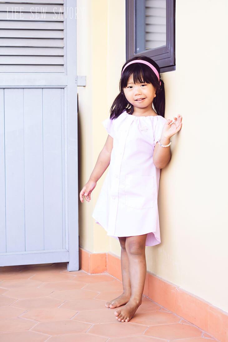 dress shirt dress pattern for kids