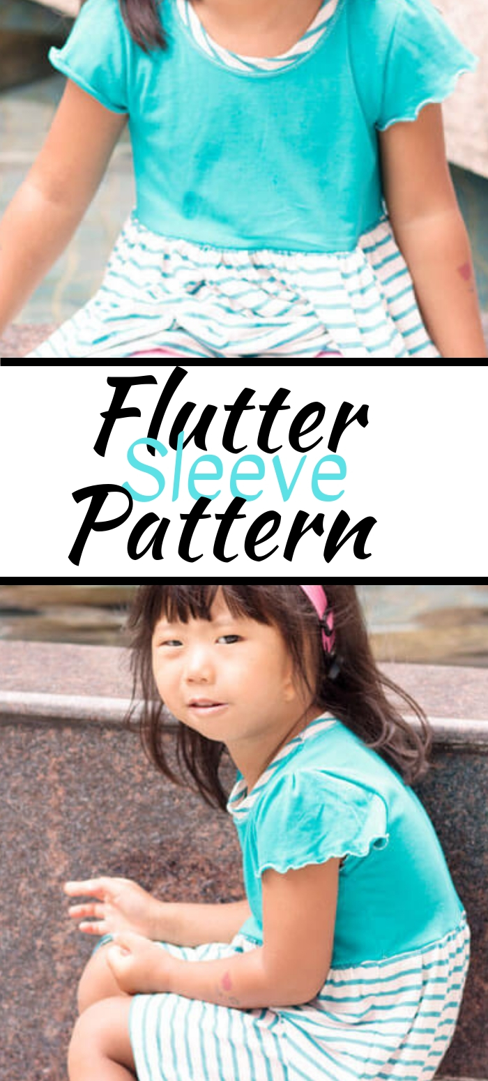 flutter sleeve sewing tutorial for cut sleeve hack for any sewing pattern