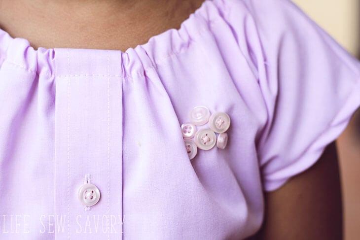 shirt dress with free pattern
