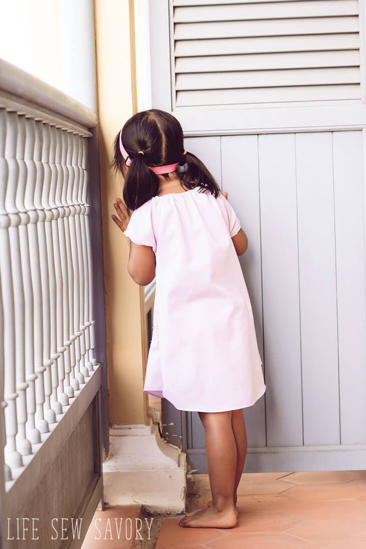 dress shirt dress pattern for kids