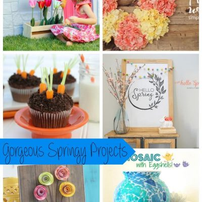 Gorgeous Springy Ideas and Create Link Inspire Party