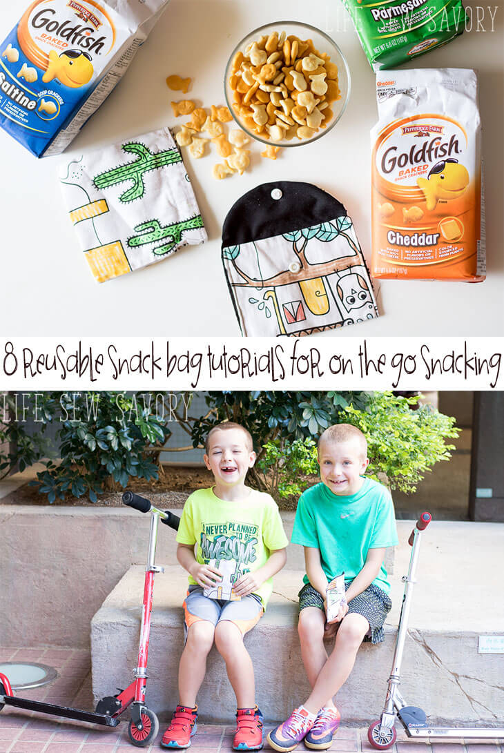 Reusable Snack Bag Tutorials -for-on-the-go-snacking-with-Life-Sew-Savory