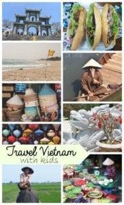 travel with kids Vietnam