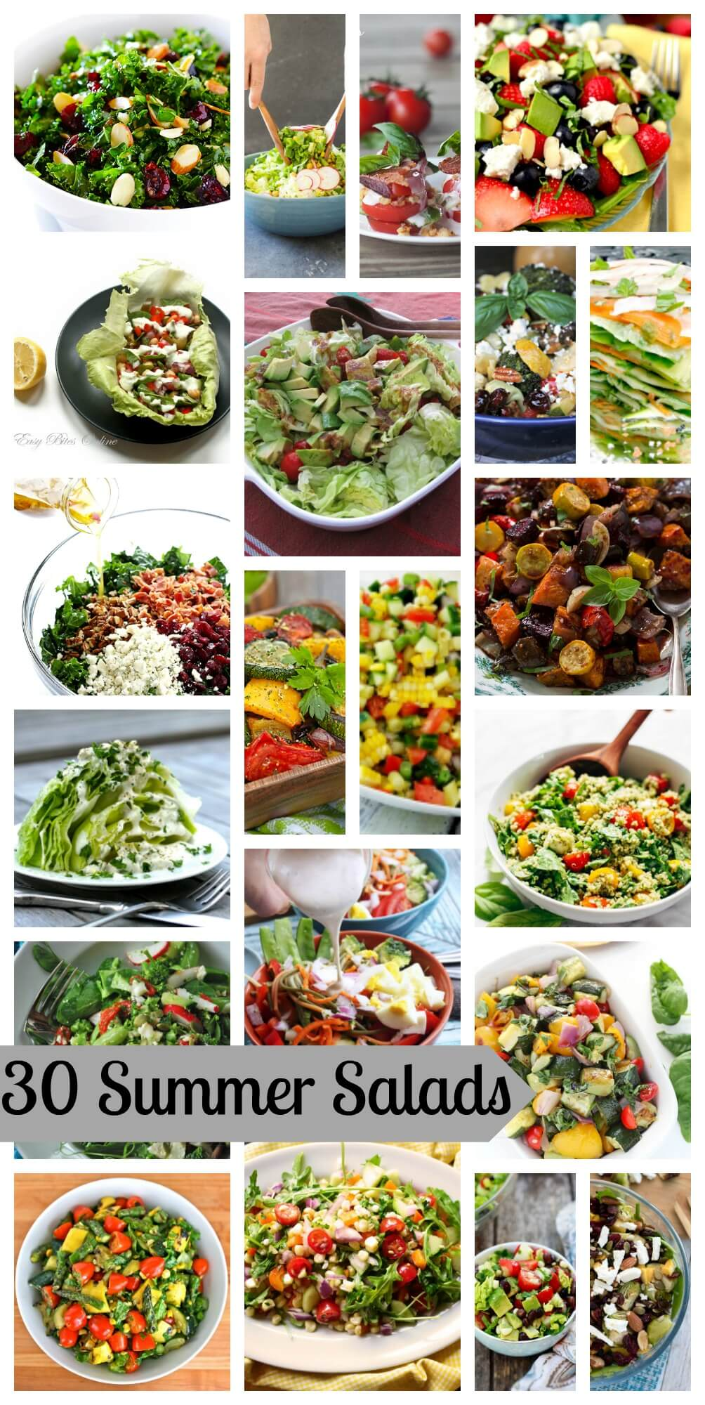 30 summer salads from Life Sew Savory