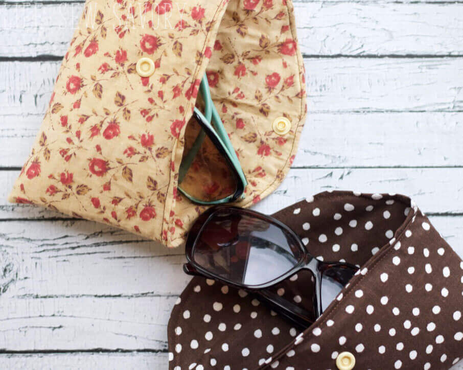 sunglasses case and free pattern