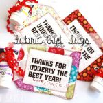 End of Year Teacher Gifts – Easy Fabric Gift Tags