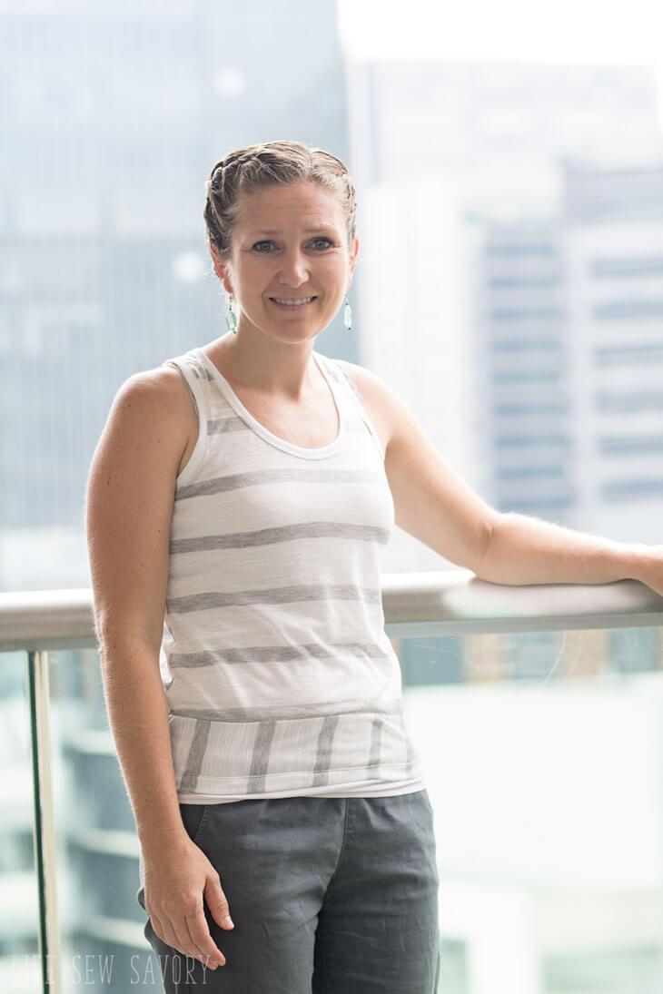 Free-Tank-Top-Sewing-Pattern-for women