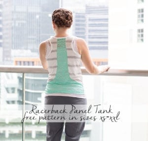 Free Tank Top Sewing Pattern – Racerback