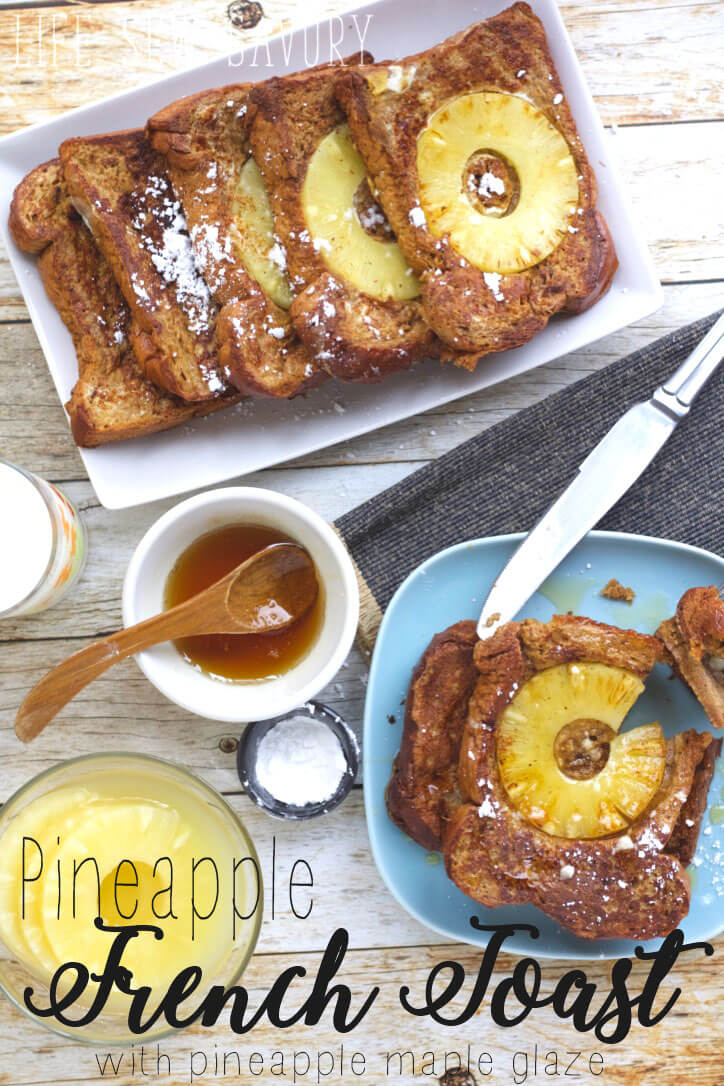 Pineapple French Toast tasty fruity breakfast from Life Sew Savory