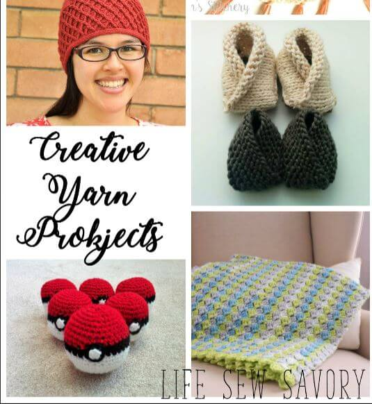 Creative Yarn Projects and Create Link Inspire