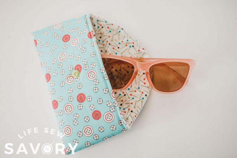 padded sunglasses case