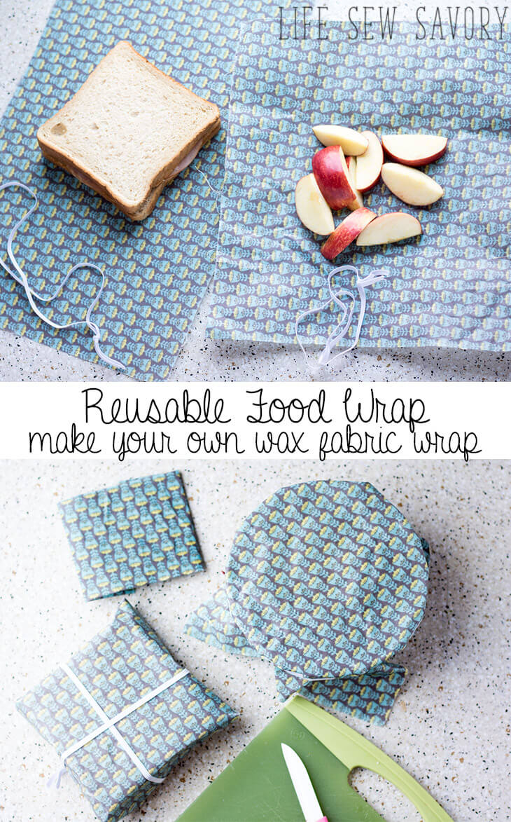 reusable food wraps for easy environmentally friendly food storage