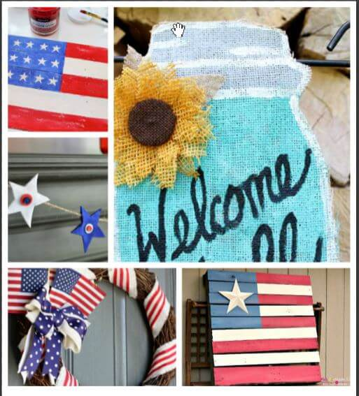 Summer Home Decor and Create Link Inspire Party