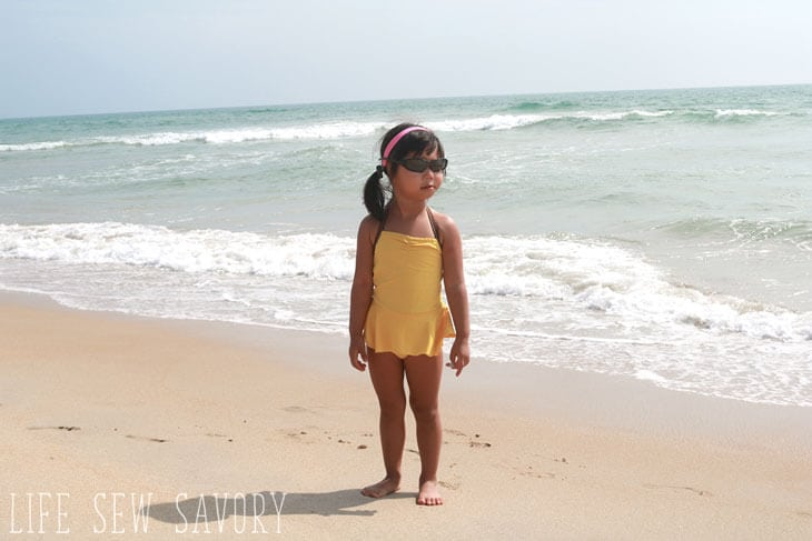 free swim suit sewing pattern