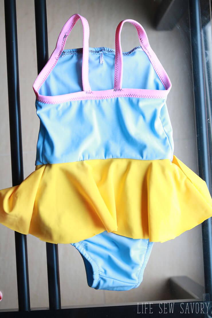 free toddler swim suit pattern