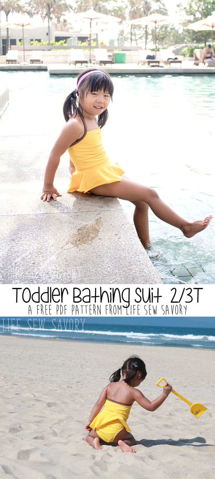 toddler bathing suit pattern from life sew savory