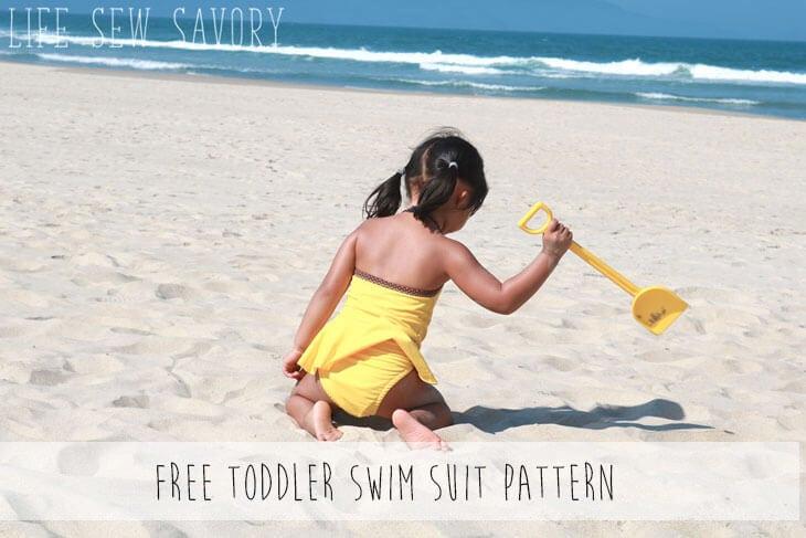 Toddler Bathing Suit Pattern - FREE - Life Sew Savory
