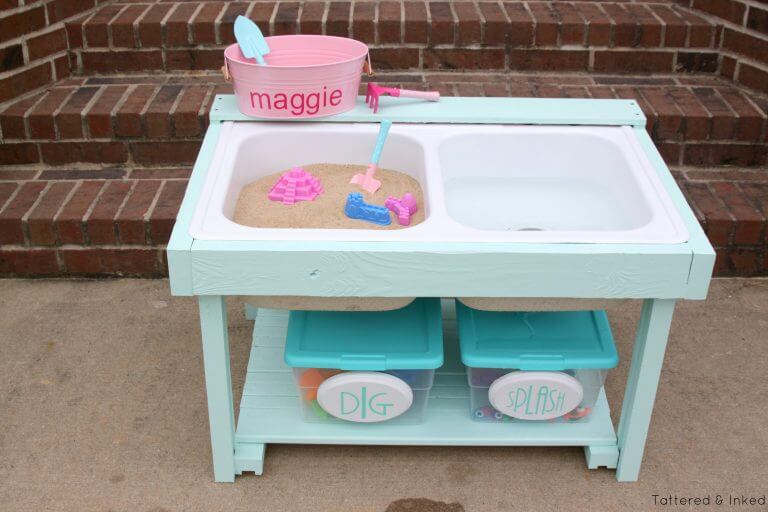 water table for outdoor fun