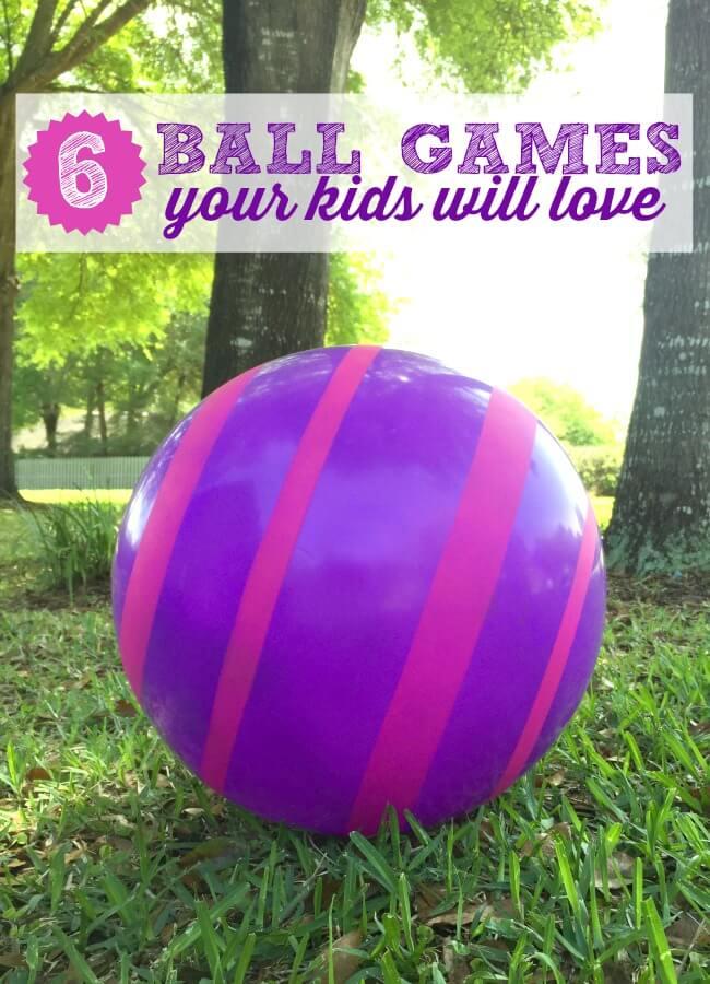 ball games for outdoor fun