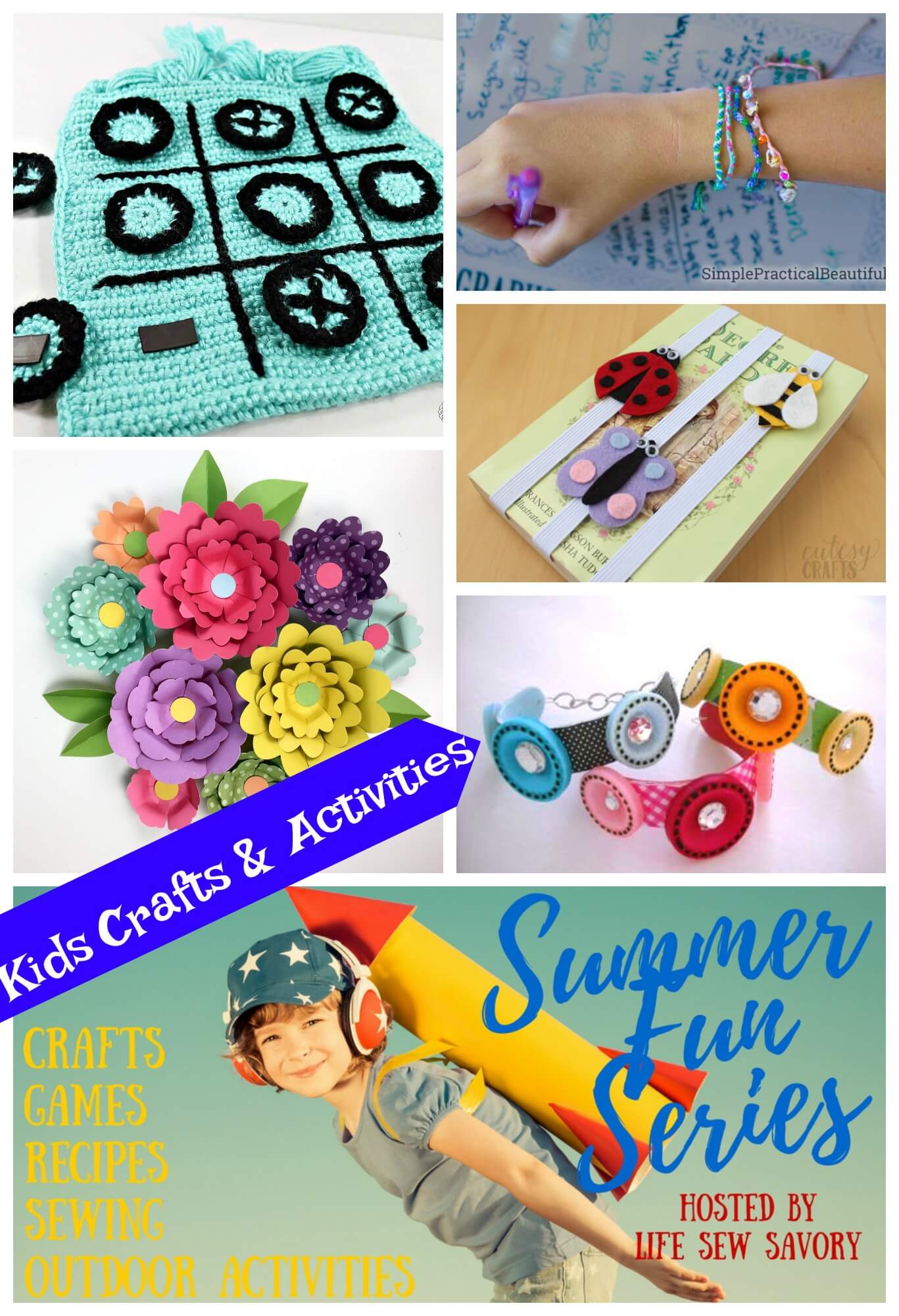 Summer Kids Crafts Summer Fun Series Life Sew Savory