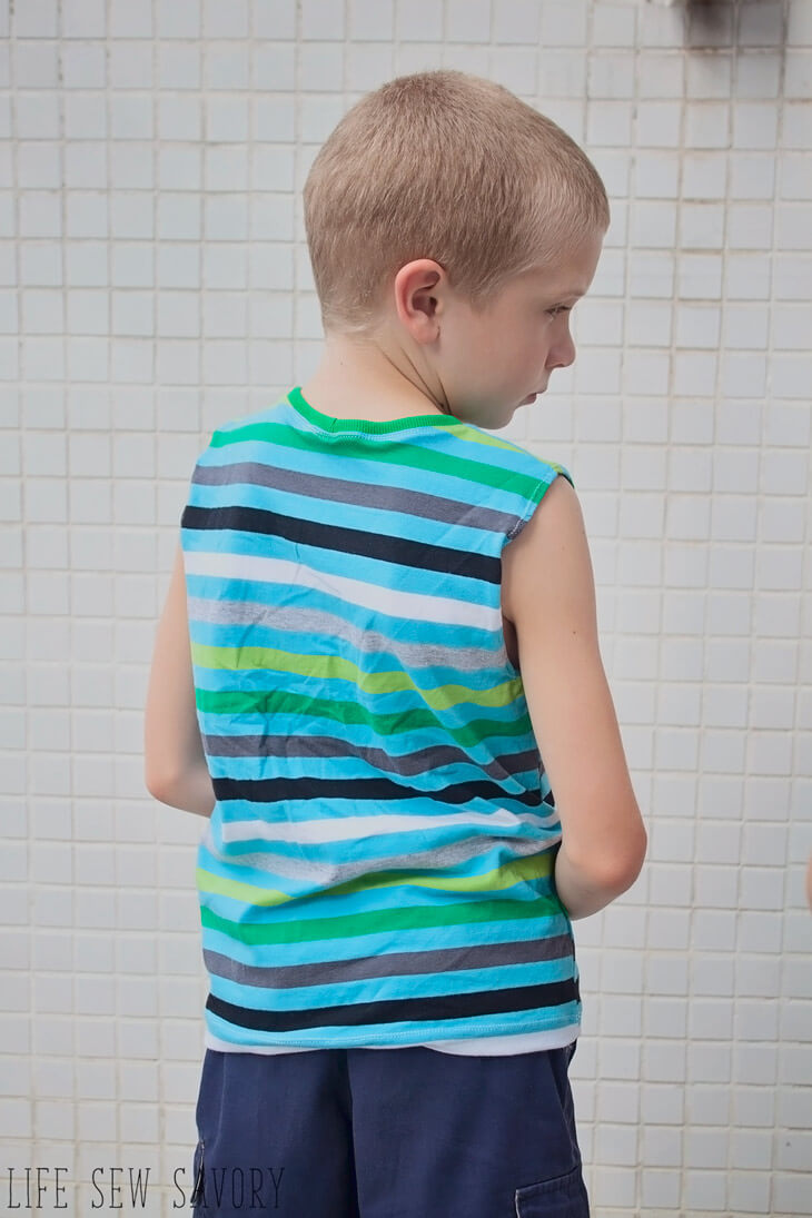 free tank top pattern for boys