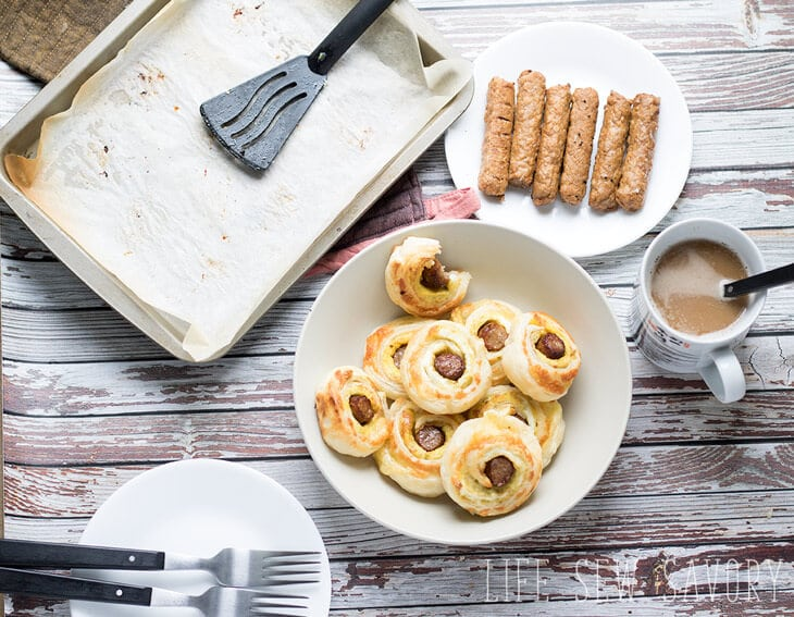 puff pastry breakfast rolls
