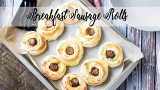 Puff Pastry Breakfast Sausage Rolls