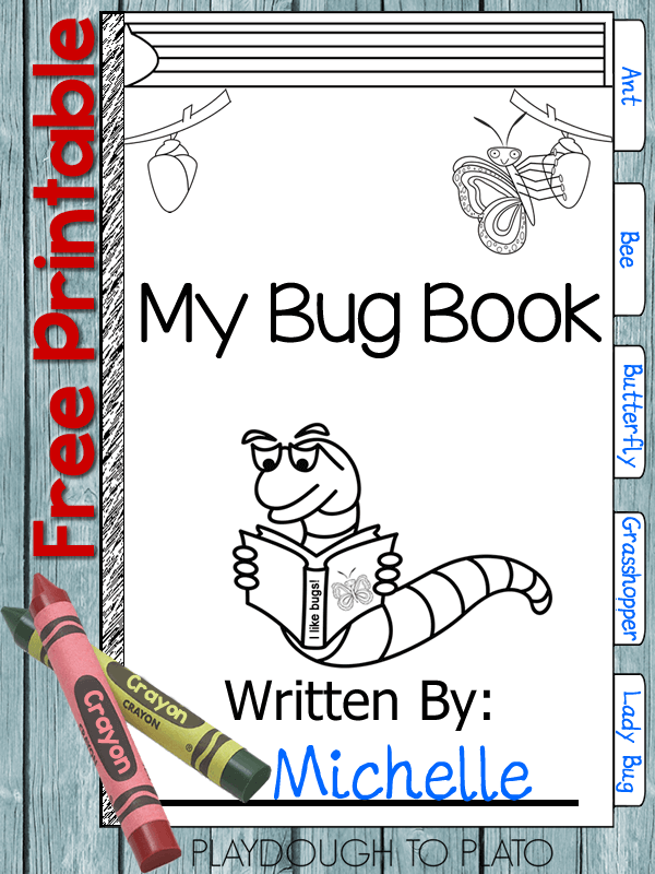 printable bug book