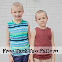 Tank Top Pattern - Boys Free PDF