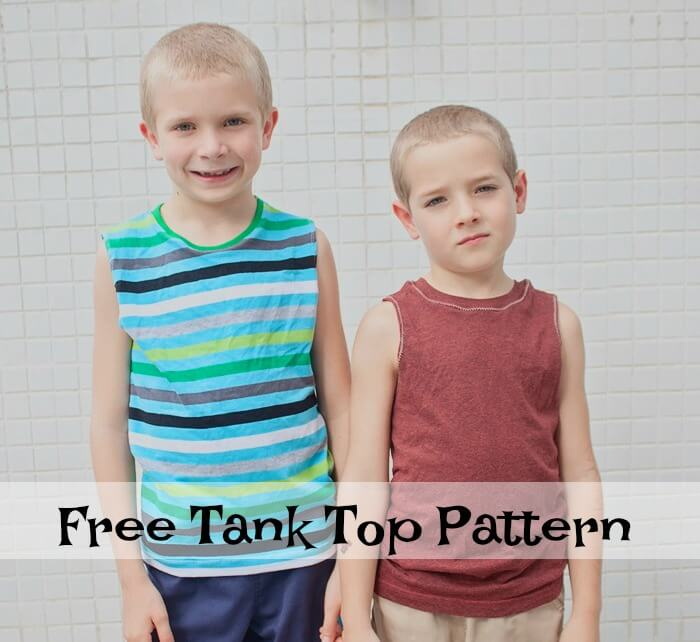 tank top pattern for boys free