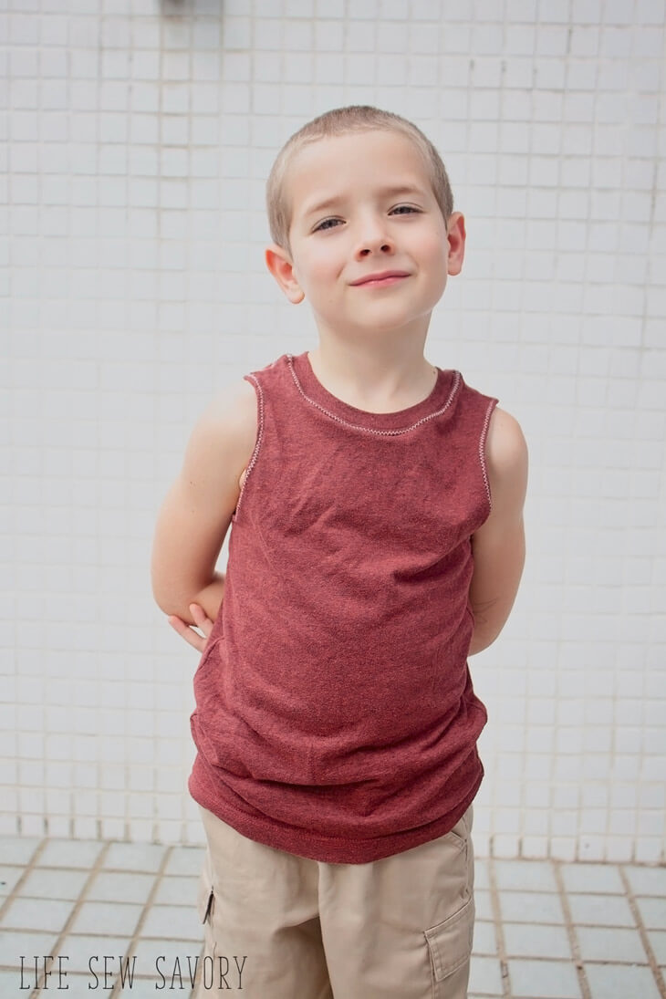 tank top pattern for boys