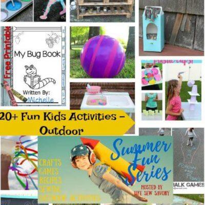 Fun Activities for Kids Outdoors