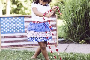 Ruffle Skirt Tutorial – Summer Toddler Skirt