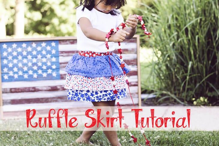 ruffle skirt social
