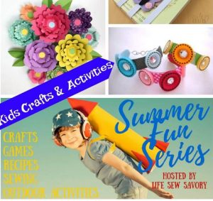 Summer Kids Crafts – Summer Fun Series