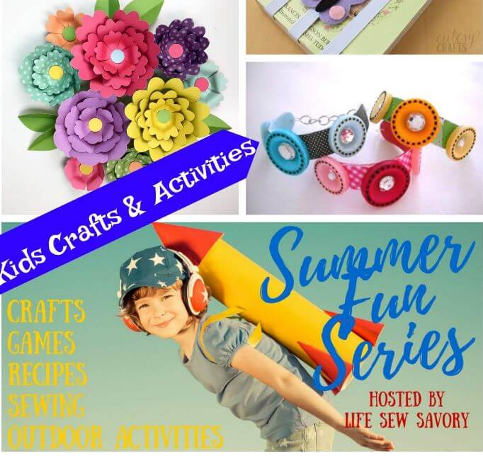 Summer Kids Crafts – Summer Fun Series