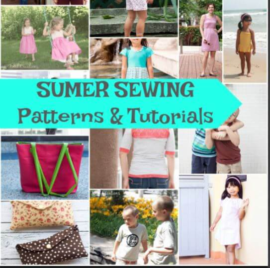 summer fun series - summer sewing