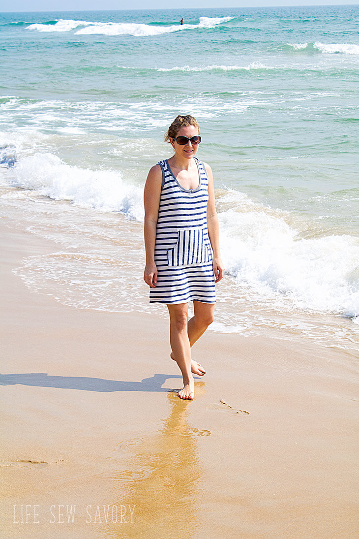swim cover up free pattern