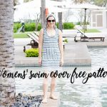 womens swim cover up free pattern