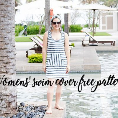 Free Sewing Pattern – Womens Swim Cover Up