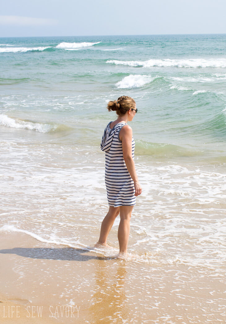 Free Sewing Pattern - Womens Swim Cover Up