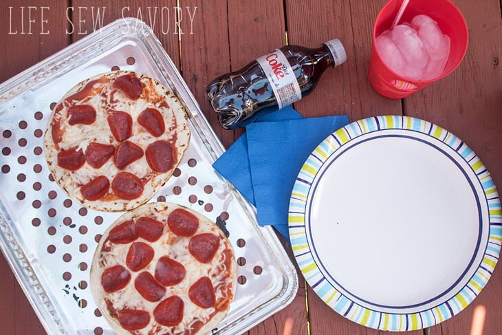 Easy Grilled Pizza with Tortillas