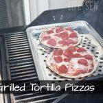 Grilled Tortilla Pizza – Easy Summer Recipe