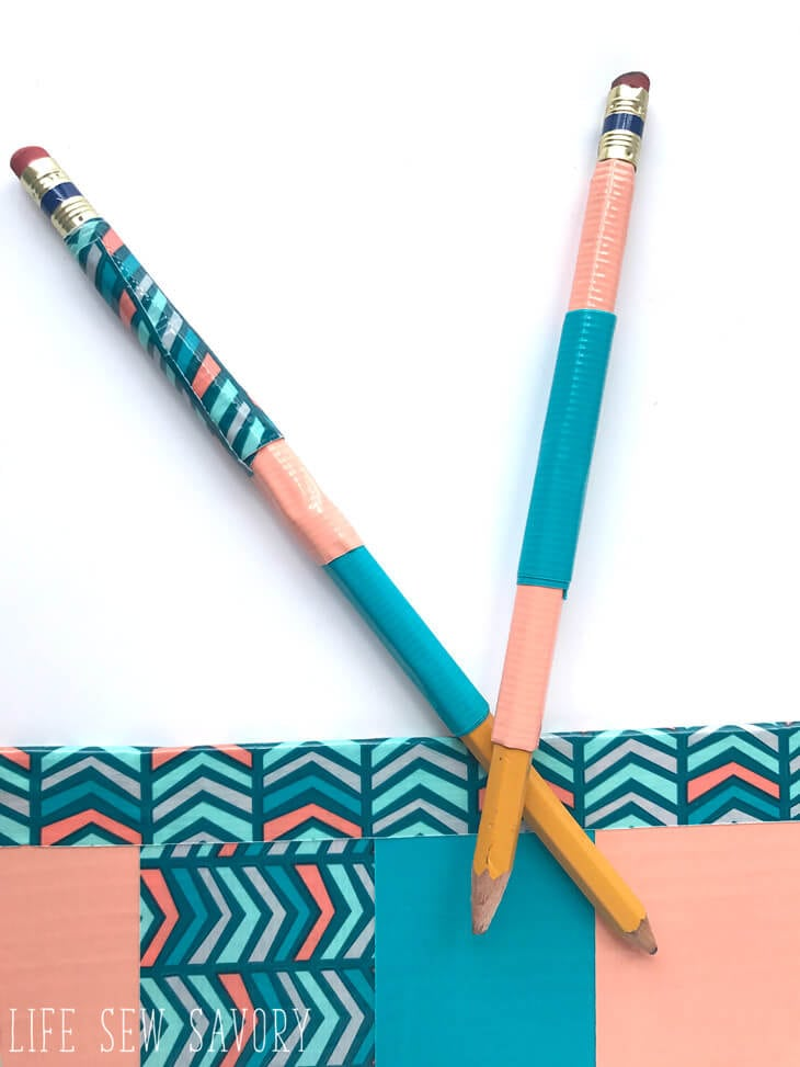 duct tape pencils