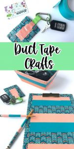 Duct Tape Crafts - back to School
